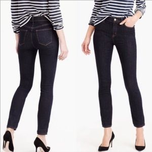 J crew lookout high rise jeans